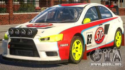 Mitsubishi Lancer EVOX DiRT2 para GTA 4