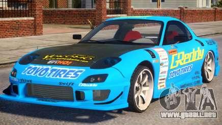 Mazda RX-7 Greddy para GTA 4