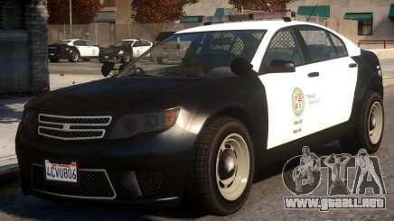 Cheval Fugitive Actuator PPV LSPD para GTA 4