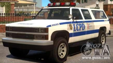 Declasse Police Ranger [V1.2] para GTA 4