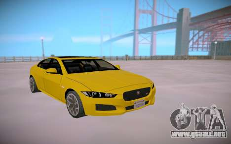 Jaguar XE-S 2015 SA Styled Low Poly para GTA San Andreas