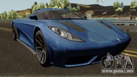 Overflod Entity XXR GTA V para visión interna GTA San Andreas