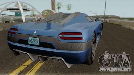 Overflod Entity XXR GTA V para la visión correcta GTA San Andreas