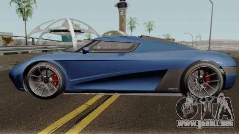 Overflod Entity XXR GTA V para GTA San Andreas left