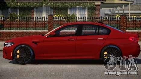2018 BMW M5 (F90) para GTA 4
