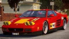 ViP Ferrari 512 TR PJ3 para GTA 4