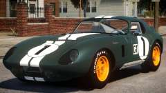 1965 Shelby Cobra PJ1 para GTA 4