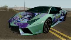 Lamborghini Reventon Itasha Hinatsuru para GTA San Andreas
