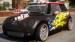 Mini Cooper S V8 USA para GTA 4