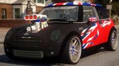 Mini Cooper S V8 UK para GTA 4