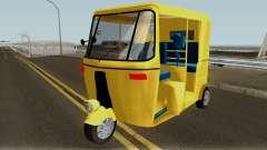 Real Indian Rickshaw para GTA San Andreas