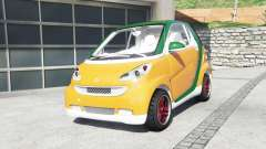 Smart ForTwo 2012 v2.0 [replace] para GTA 5