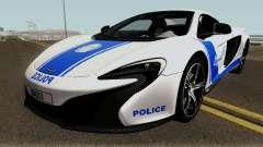 McLaren 650S Spyder Algeria Police v1.0 para GTA San Andreas