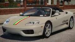 2000 Ferrari 360 Spider V1.3 para GTA 4