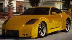 Nissan 350z V2 para GTA 4