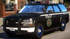 Chevrolet Tahoe Z71 Police (SWAT) para GTA 4