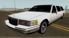 Lincoln Towncar Limo 1991 para GTA San Andreas