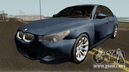BMW M5 Low-poly para GTA San Andreas
