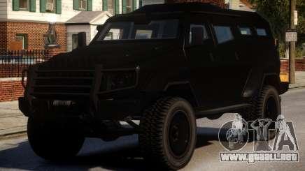HVY Insurgent para GTA 4