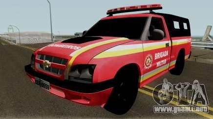 Chevrolet S-10 CBMRS para GTA San Andreas
