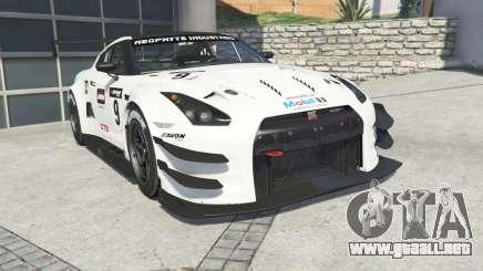 Nissan GT-R Nismo GT3 (R35) 2013 [add-on] para GTA 5