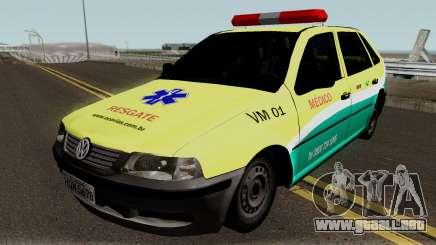 Volkswagen Gol EcoSul para GTA San Andreas