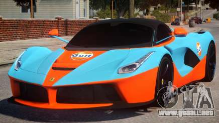 Ferrari LaFerrari PJ para GTA 4