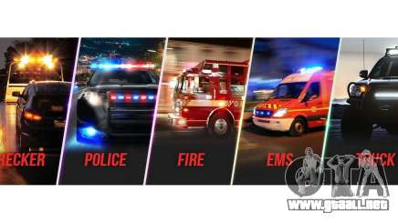 Emergency Lighting System v1.05 para GTA 5