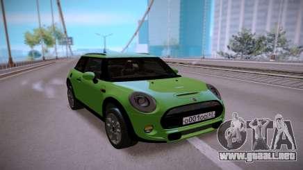 Mini Cooper Green para GTA San Andreas