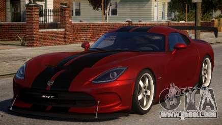 Dodge Viper 2013 PJ1 para GTA 4
