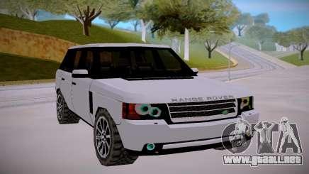Land Rover Range Rover Supercharged Mk.III 2012 para GTA San Andreas