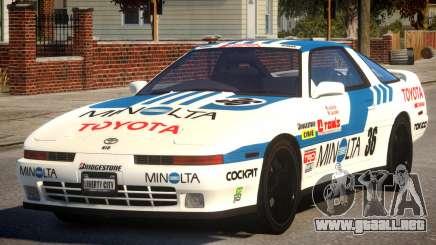 1992 Toyota Supra 3.0 Turbo PJ1 para GTA 4