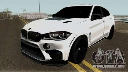 BMW X6M para GTA San Andreas