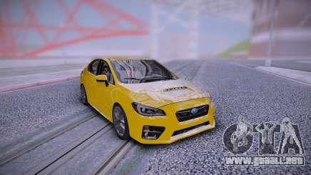 2018 Subaru WRX STI 4Dr Sport Pkg 6sp para GTA San Andreas