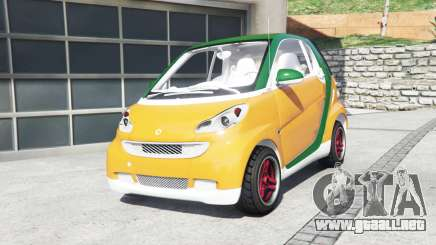 Smart ForTwo 2012 v2.0 [replace] para GTA 5