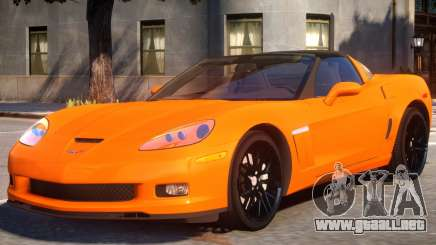 2010 Chevrolet Corvette Grand Sport v1.3 para GTA 4