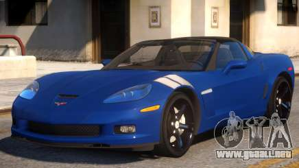 2010 Chevrolet Corvette Grand Sport v1 para GTA 4