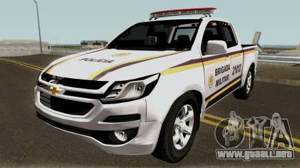 Chevrolet S-10 2017 Brigada Militar para GTA San Andreas