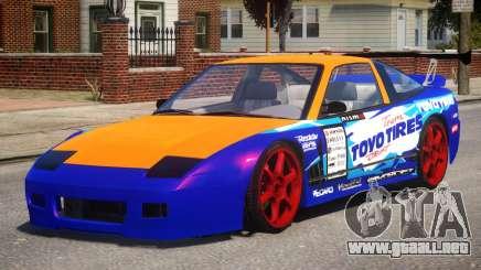Nissan 240SX Drift Car para GTA 4