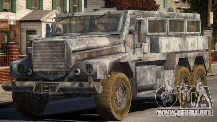 MRAP Cougar 6x6 para GTA 4