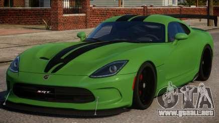 Dodge Viper 2013 PJ2 para GTA 4