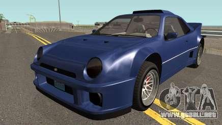 Vapid GB200 GTA V para GTA San Andreas