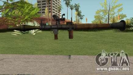 RPG-7 HQ para GTA San Andreas