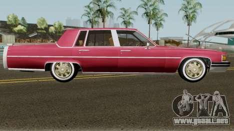 Cadillac Fleetwood Normal 1985 v1 para GTA San Andreas