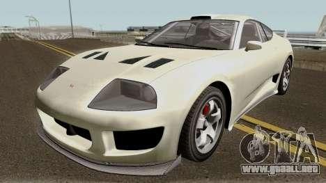 Dinka Jester Classic or F&F GTA V IVF para GTA San Andreas