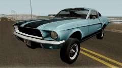Ford Mustang GT390 Bullitt Edition 1968 para GTA San Andreas