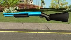Chromegun Blue para GTA San Andreas
