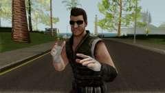 Undead Hunter Johnny Cage MKXM para GTA San Andreas