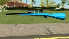 Sniper Rifle Blue para GTA San Andreas