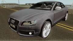 Audi S5 TR PLAKA 2008 para GTA San Andreas